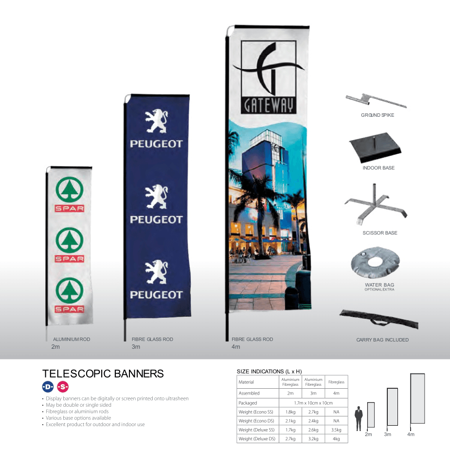 TELESCOPIC-BANNERS